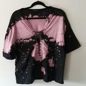 NWOT size L FashionNova tye-die shirt